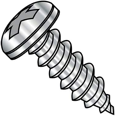 8-15X3 1 2 Phillips Pan Shipping included Self Max 44% OFF Fully Threaded Screw A Type Tapping