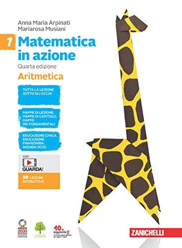 Matematica in azione. Aritmetica-Geometria. Per la Scuola media. Con e-book. Con espansione online (Vol. 1)