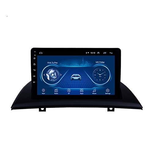 GPS NAV 9 Pulgadas De 10 Pulgadas Android Máquina Universal 1G + 16GB Radio Táctil Completo DVD UTIDE PARA BWM X3 GPS Navigator, Notificación De Voz De Varias Condiciones De Tráfico, (Size: 10 inches)