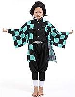 MANNICO 鬼滅の刃 コスプレ 衣装 子供服 男の子 女の子 子供 仮装 子供用 きめつのやいば 服 子ども コスプレ衣装 キッズ 変装 和服 cosplay ハロウィン 文化祭 舞台衣装 羽織