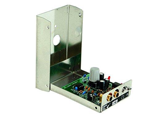 VS-ELECTRONIC - 840114 Velleman Bausatz mit Kopfhörerausgang, Gitarrenvorverstärker K4102