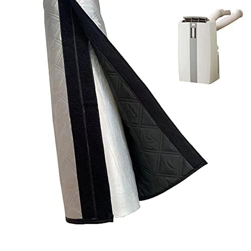 Copertura per tubo del condizionatore d'aria a lunga durata, con isolamento portatile, per tubo di condizionamento d'aria, manicotto antipolvere universale per tubo di scarico