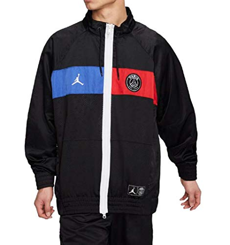 Nike Jordan Jumpman Herren Jacke Paris Saint-Germain PSG Black/Game royal/University red (M)