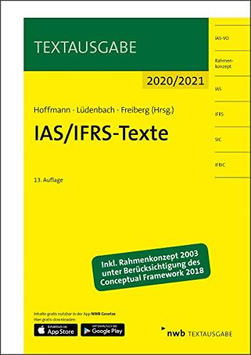 IAS/IFRS-Texte 2020/2021 (Textausgabe)