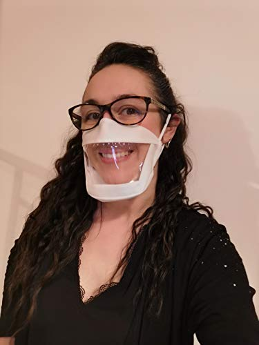Victoire UNS1 - Maschera protettiva trasparente per adulti