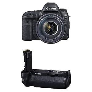 Canon EOS 5D Mark IV Full Frame Digital SLR Camera with EF 24-105mm f/4L IS II USM Lens Battery Bundle