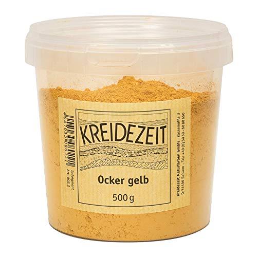 Kreidezeit Pigment-ocker gelb-500 g