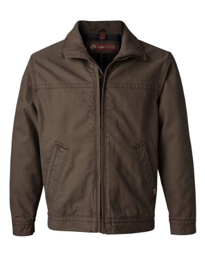 Dri-Duck Adult Maverick Blanket-Lined Quarry-Washed Canvas Jacket. 5028 - Large - Tobacco