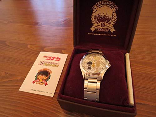 名探偵コナン 10周年記念 腕時計 黄金の時刻