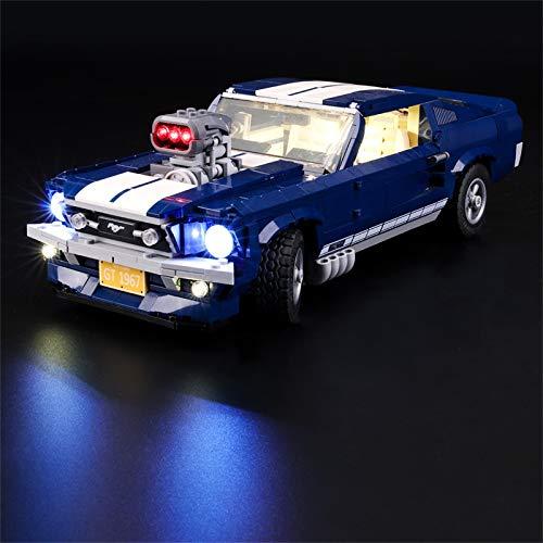 LIGHTAILING Licht-Set Für (Creator Expert Ford Mustang) Modell - LED Licht-Set Kompatibel Mit Lego 10265(Modell Nicht Enthalten)