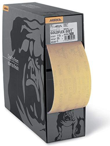 Mirka 2912707018 Or Flex Souple Perf. rôle P180, 115 x 125 mm, 200 Pro Roll