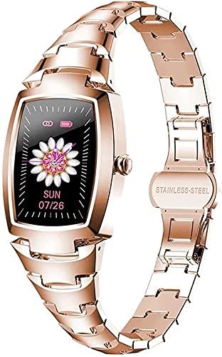 Reloj inteligente de seguimiento de actividad física con llamada Bluetooth, función de monitorización de la presión arterial, sueño de frecuencia cardíaca