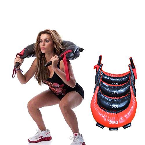 Gewichtssack Sandbag Fitness Training Fitnessbag Powerbag Gewicht Sandsack 5-25Kkg Gewicht Gefüllt Sand Power Bag Workouts,5-kg