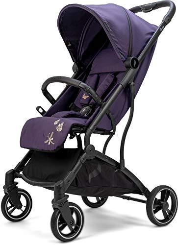 Osann Boogy Sportwagen-Buggy mit Liegefunktion ab Geburt bis 22 kg - inklusive Regenverdeck, Transporttasche und Babyschalen-Adapter // Blackberry COLLECTION 2021