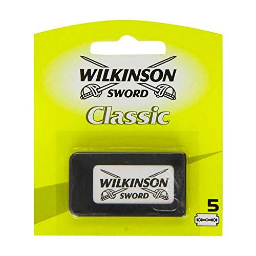 Wilkinson Classic Sword Double Edge Razor Blades (Pack of 5) (Rasiermesser)