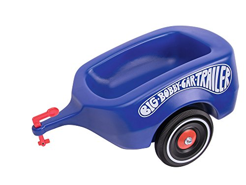 BIG 800056277 - Bobby-Car-Trailer Kinderfahrzeug, royalblau