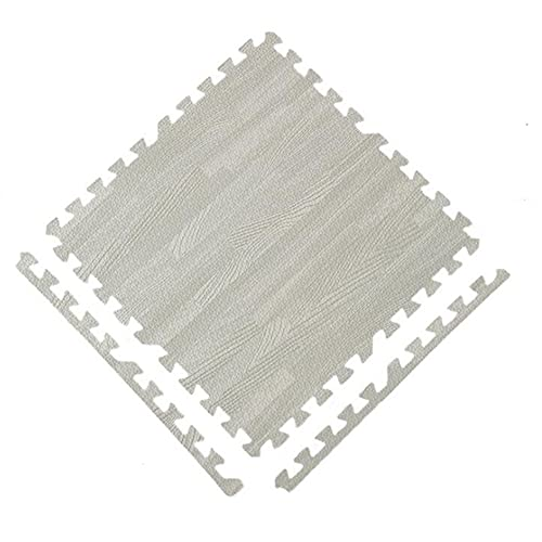 LIUNA 4 Tile Floor Mats And Carpets Gym Floor Fitness Mat Exercise Mat Floor Exercise Mat Foam Floor Tiles Rug Interlocking EVA Foam Pad Ad(Size:30x30x1cm,Color:4)