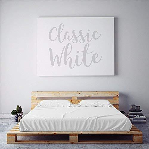 PeachSkinSheets Night Sweats: The Original Moisture Wicking, 1500tc Regular King Sheet Set Classic White
