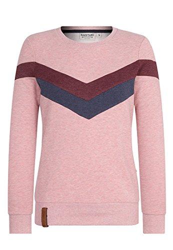 Naketano Damen Immer diese satzbau Sweatshirt rosa L