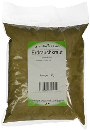 Naturix24 Erdrauchkraut Gemahlen, 1er Pack (1 x 1 kg)