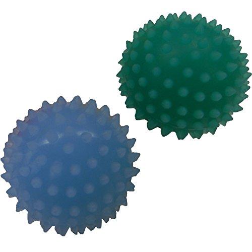 コーキ・マテリアル ラブラックス 爪もみボール ライトブルー・グリーン