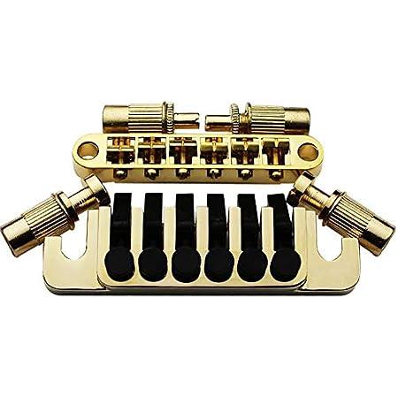 Tune O-Matic Brücke String Sattel Tail Style Set Für E-Gitarre in Gold