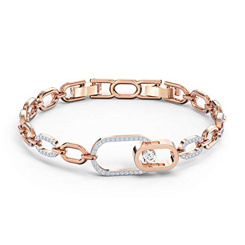 Swarovski Women's North Bracelet, Brilliant Crystals with a Mixed Metal Finish, from the Swarovski Sparkling Dance Collection