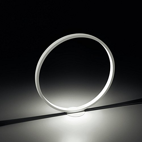 Assolo LED - Lampe de terra blanc/Ø70cm/couleur d'éclairage 2800K/with touch dimmer