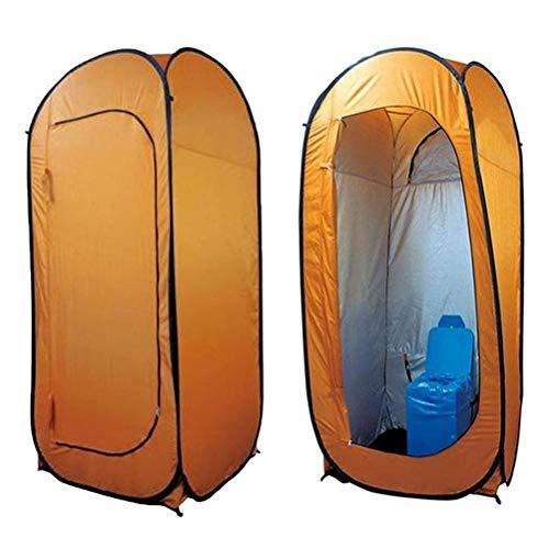 Kohyum Tienda de ducha desplegable para exteriores, privacidad, vertical, horizontal, instantánea, para camping o playa