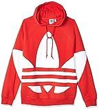 adidas Bg Trefoil Hbr Sudadera con Capucha, Hombre, Rojo (Lush Red), XS