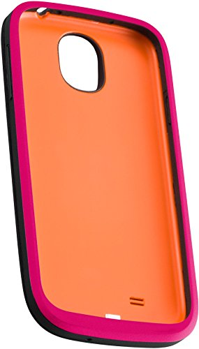 Ventev Powercase 2300 for Samsung Galaxy S4 - Retail Packaging - Black/Pink