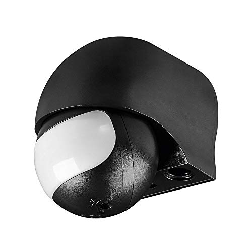 Goobay Bewegungsmelder infrarot slim Design, schwarz