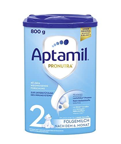 Aptamil Pronutra-ADVANCE 2, Folgemilch nach dem 6. Monat, Baby-Milchpulver (1 x 800 g)