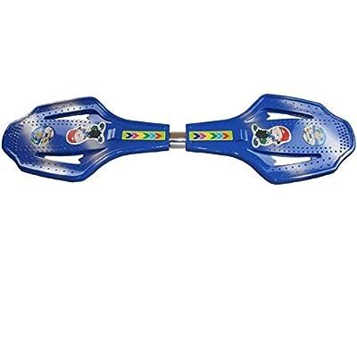 FGKING Longboard Skateboard, Intense Acceleration Waveboard Caster und Anti Slip Concave und Up Portable Lightweight für Kinder Erwachsene
