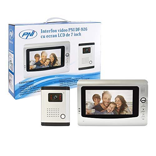 PNI DF-926 - Videocitofono Con Schermo LCD da 7 Pollici