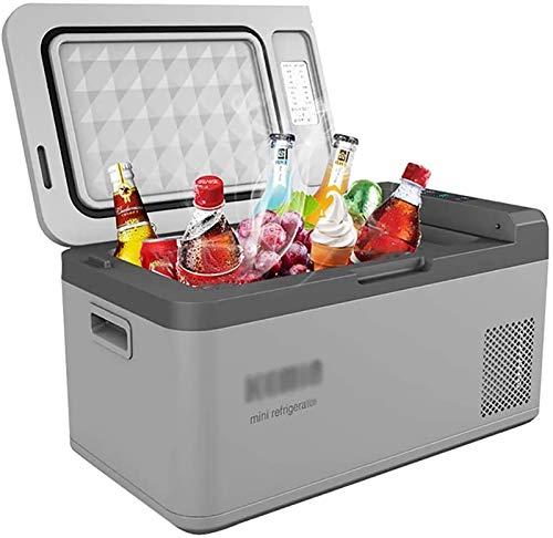 HRRF 24L Mini Coche Refrigerador Frigorífico Compresor portátil Congelador Caja de refrigerador eléctrico Caja Camping Camión Pequeño Mini Congelador Refrigerador