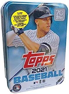 2021 Topps Series 1 MLB Baseball Tin (75 cards/bx, Judge)