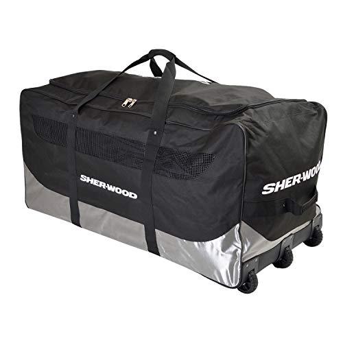 Sherwood Eishockeytasche SL 800 Goalie Wheel Bag, blau-grau, 111 x 56 x 55 cm, 92 Liter