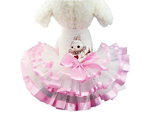 Motif Lapin Belle Chiens Bubble Skirt Vêtements Vêtements Grenadine Animaux