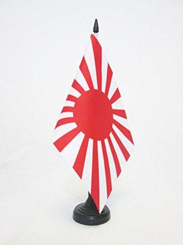 AZ FLAG TISCHFLAGGE KAISERLICH JAPANISCHE Armee 21x14cm - Japan WWI TISCHFAHNE 14 x 21 cm - flaggen