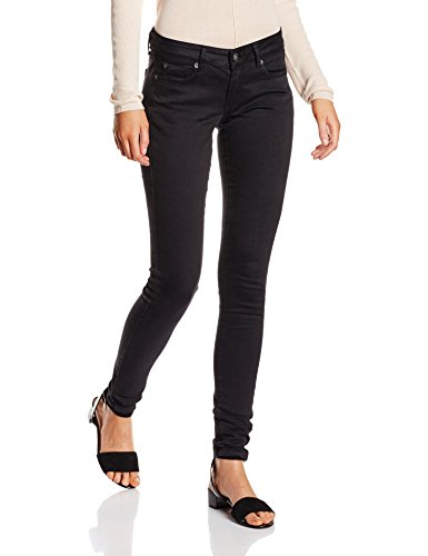 Pepe Jeans Damen Soho PL210804 Hose, Schwarz (U91-Black 999), 28W / 30L