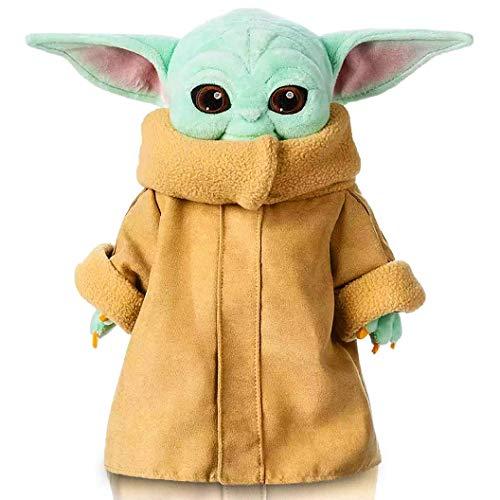 Lifattitude Baby Yoda Plüsch, Baby Yoda Stofftier, Baby Yoda Puppe, Baby Yoda Plüschfiguren, Sammlerstück Yoda Plüschspielzeug für Geburtstage, Rollenspiele, Festivals - 29,2 cm