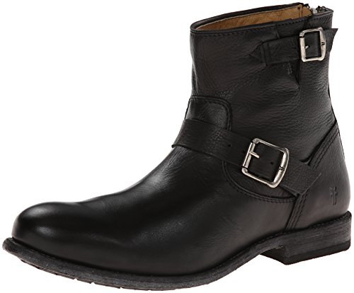 FRYE Men's Tyler Engineer Boot,Black,8 M US