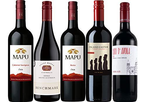 エノテカ定番人気 高コスパデイリー赤ワイン [ 5本セット ]