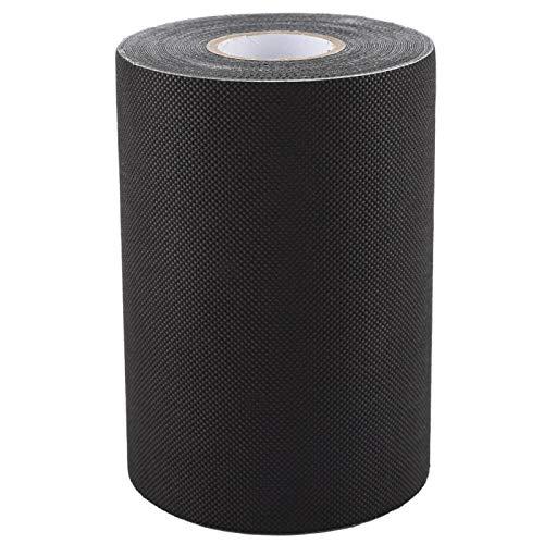 Cinta negra autoadhesiva de unión de 15 * 1000 cm, césped sintético, portátil, ecológico, impermeable, a prueba de humedad, costura, césped artificial para alfombra de césped, alfombra de césped falso