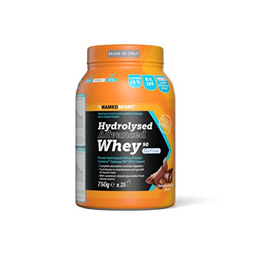 NAMEDSPORT Hydrolysed Advanced Whey Delicious Chocolate - 750 Gr