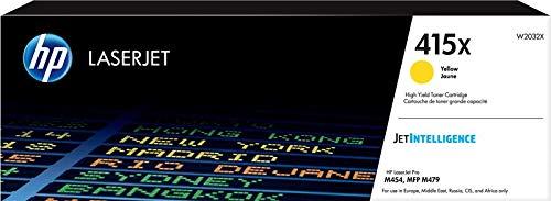 HP 415X W2032X Cartuccia Toner Originale ad Ata Capacità, da 6.000 Pagine, per Stampanti HP Color...