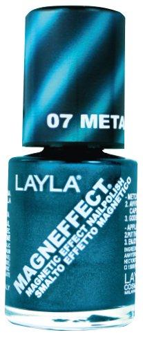 Layla Cosmetics MagneEffect Nagellak, metallic sky, 1-pack (1 x 0,01 L)