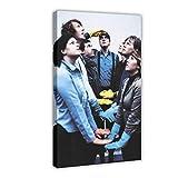 Rock Band Arcade Fire Leinwand Poster Wandkunst Dekor Druck