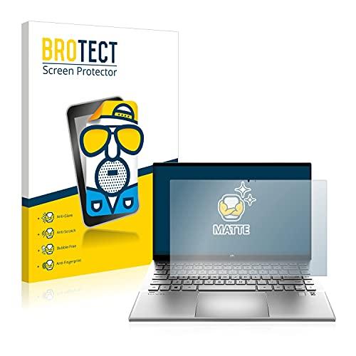 BROTECT Entspiegelungs-Schutzfolie kompatibel mit HP Pavilion x360 14-dy0155ng Bildschirmschutz-Folie Matt, Anti-Reflex, Anti-Fingerprint